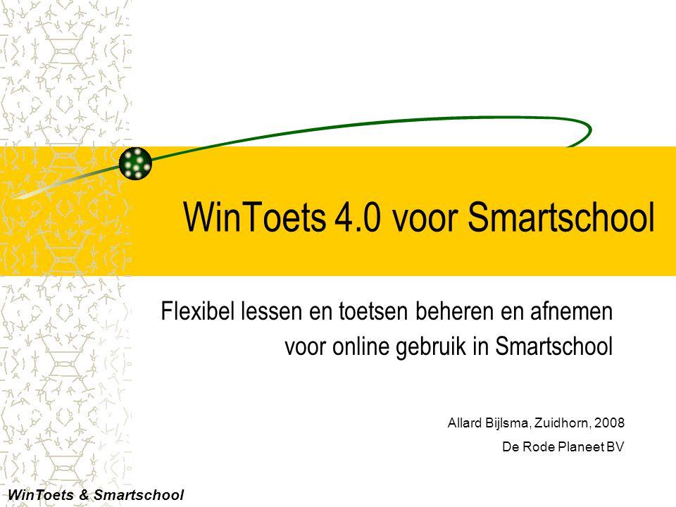 WinToets 4.0 voor Smartschool