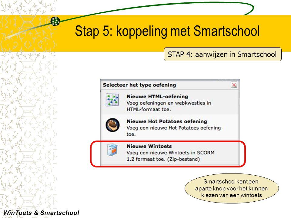 Stap 5: koppeling met Smartschool