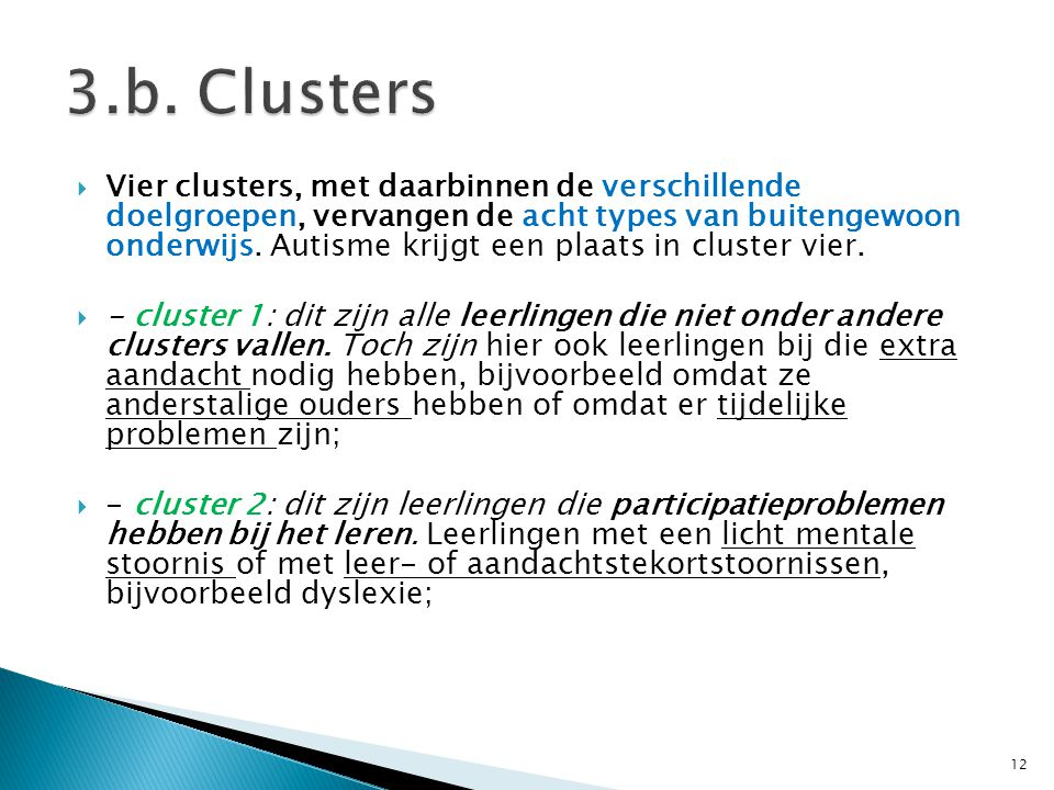 3.b. Clusters