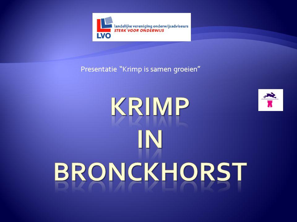 Presentatie Krimp is samen groeien