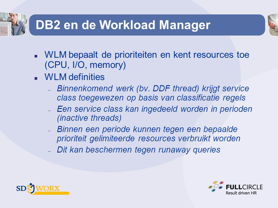 DB2 en de Workload Manager