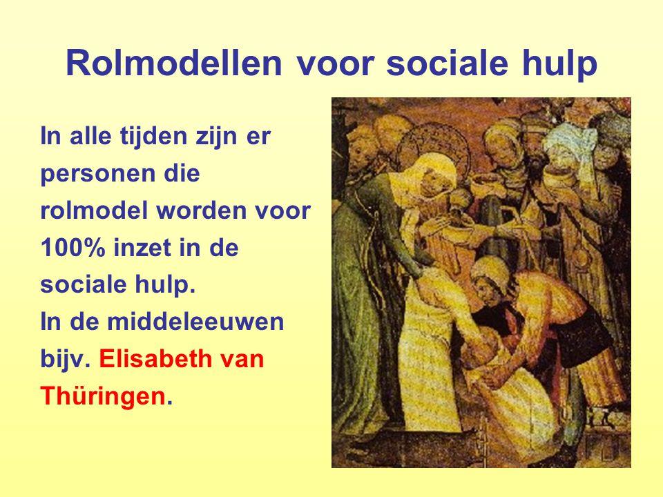 Rolmodellen voor sociale hulp