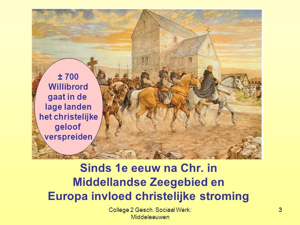 Middellandse Zeegebied en Europa invloed christelijke stroming