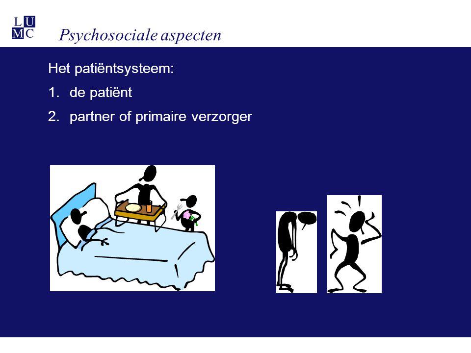 Psychosociale aspecten