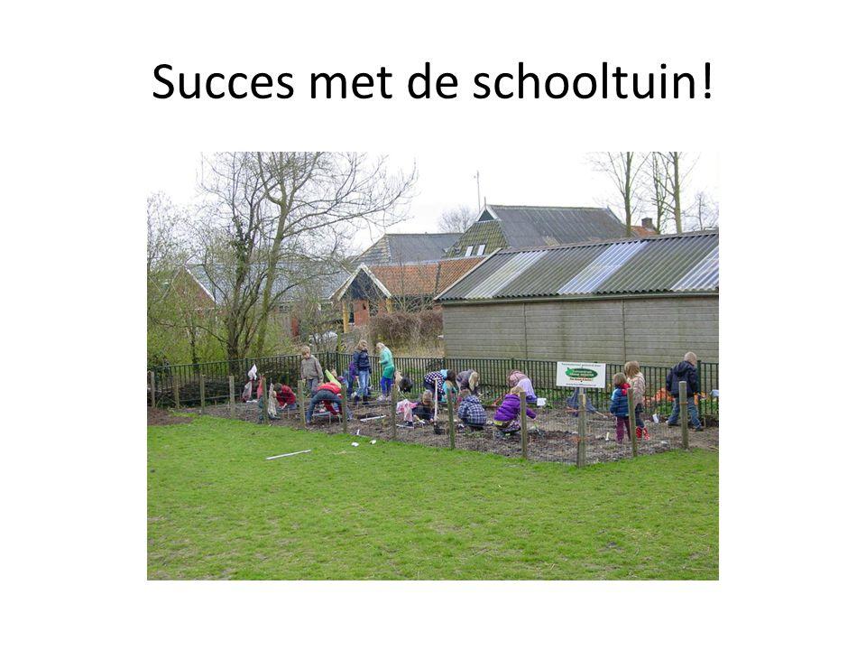Succes met de schooltuin!