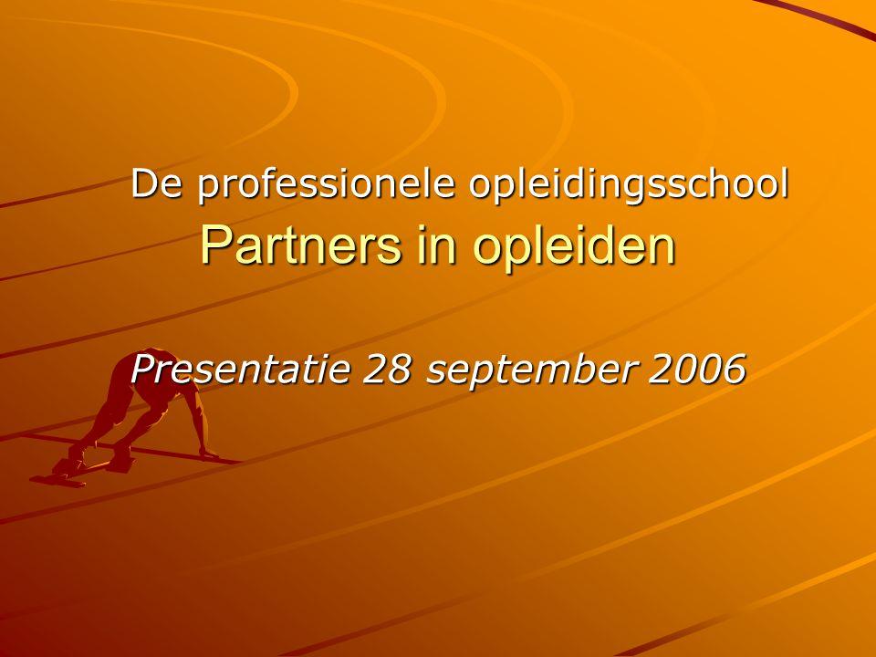 Presentatie 28 september 2006