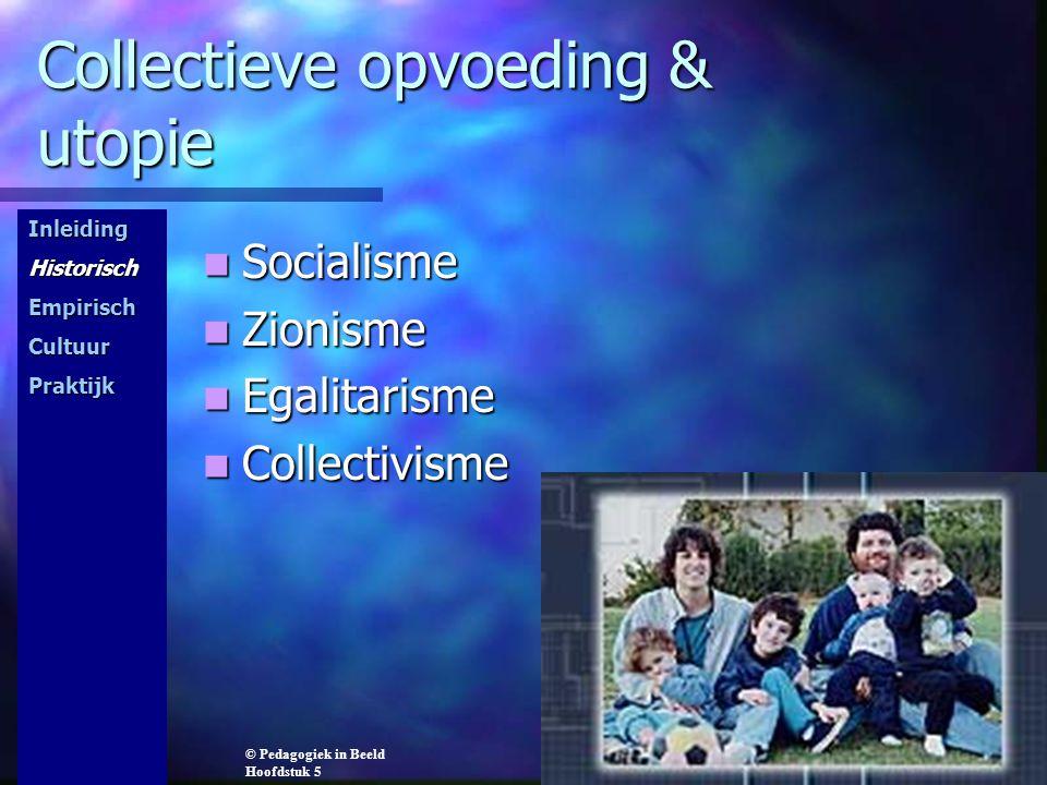 Collectieve opvoeding & utopie