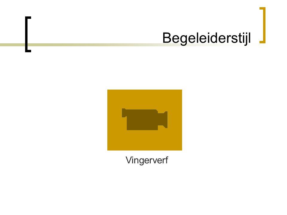 Begeleiderstijl Vingerverf