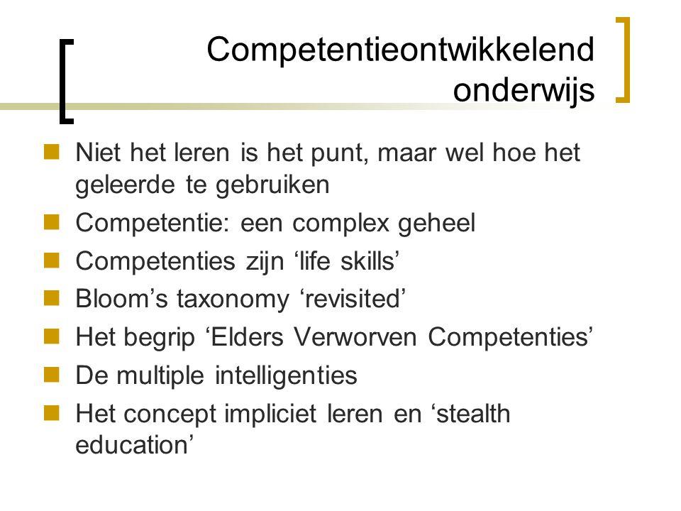Competentieontwikkelend onderwijs