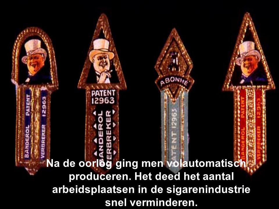 Na de oorlog ging men volautomatisch produceren
