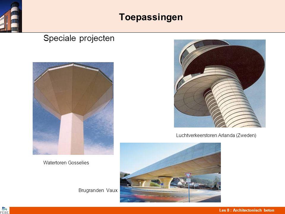 Toepassingen Speciale projecten Luchtverkeerstoren Arlanda (Zweden)