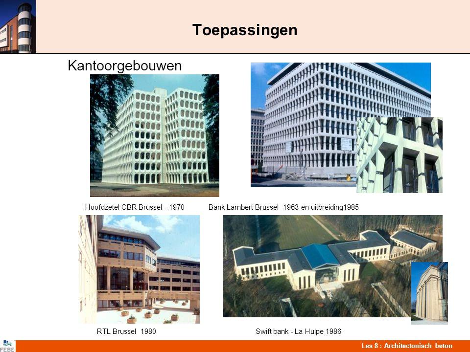 Toepassingen Kantoorgebouwen