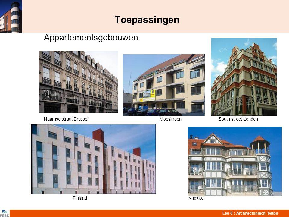 Toepassingen Appartementsgebouwen