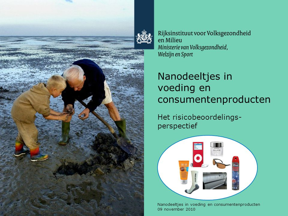Nanodeeltjes in voeding en consumentenproducten