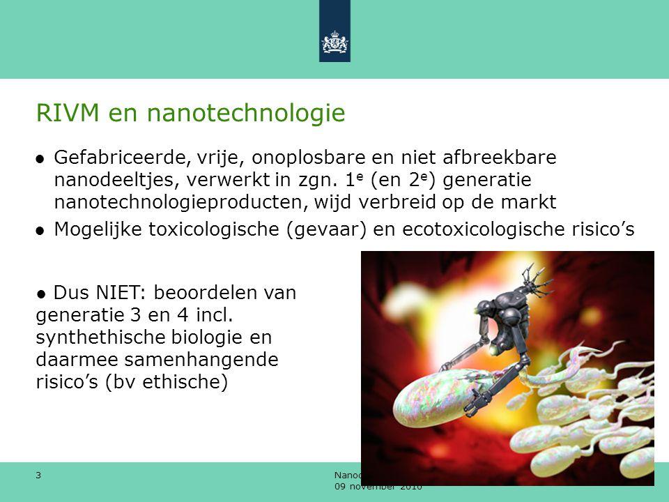 RIVM en nanotechnologie