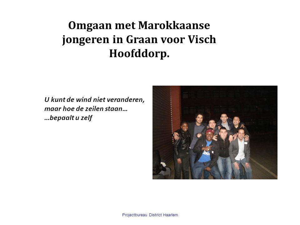 Omgaan met Marokkaanse jongeren in Graan voor Visch Hoofddorp.