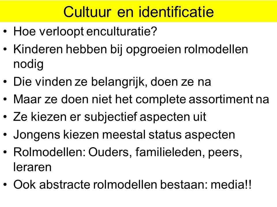 Cultuur en identificatie