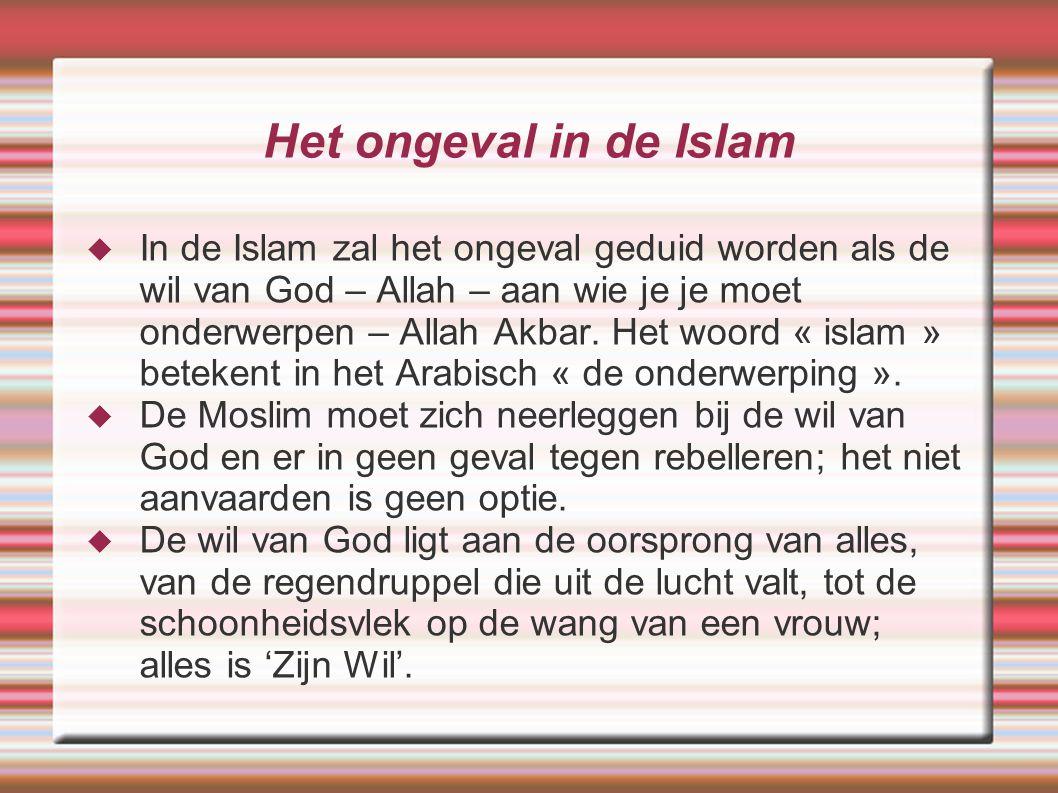 Het ongeval in de Islam