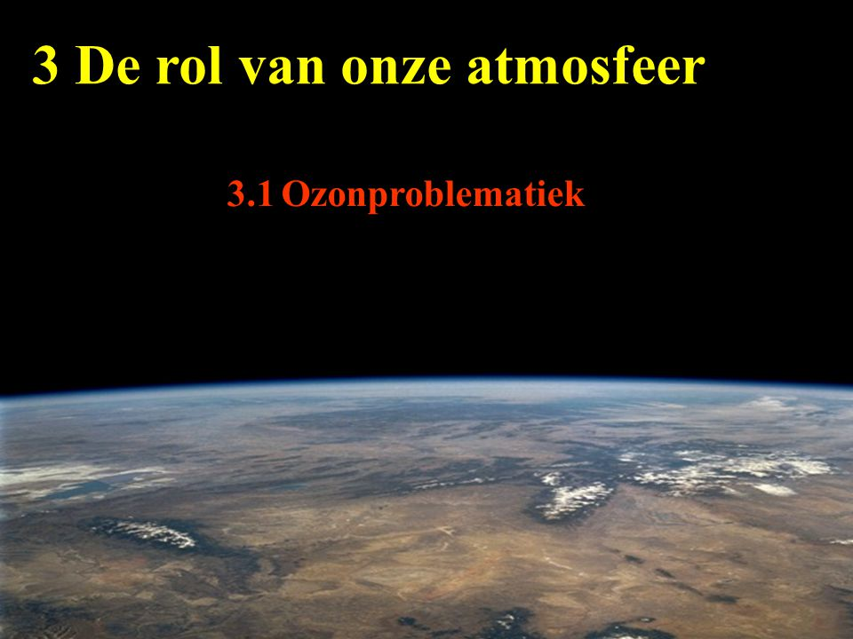 3 De rol van onze atmosfeer