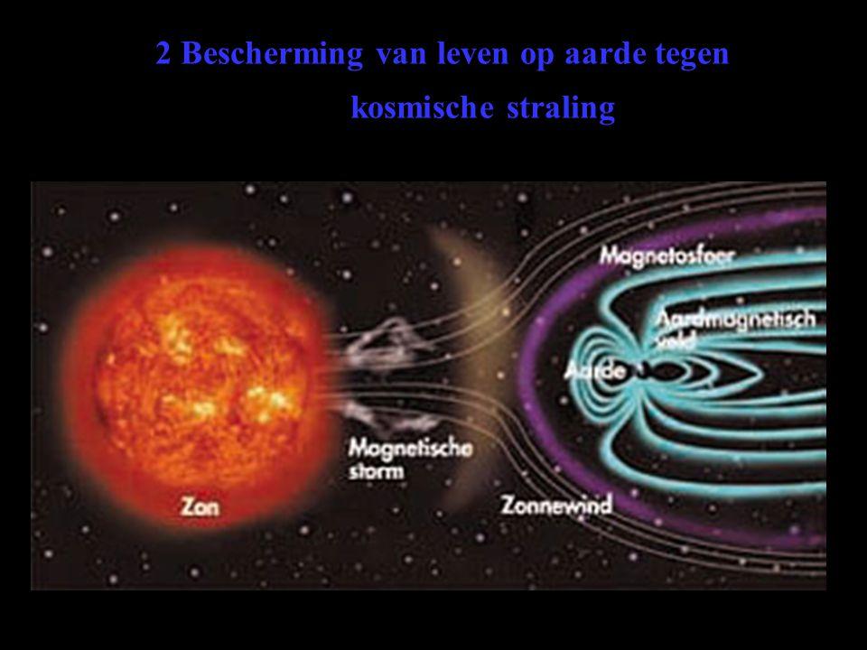 2 Bescherming van leven op aarde tegen kosmische straling