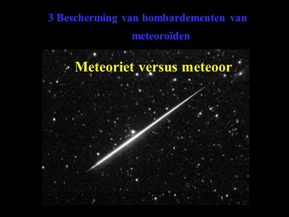 3 Bescherming van bombardementen van meteoroïden