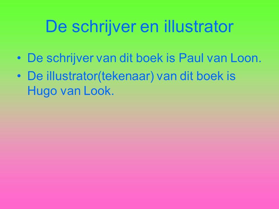 De schrijver en illustrator
