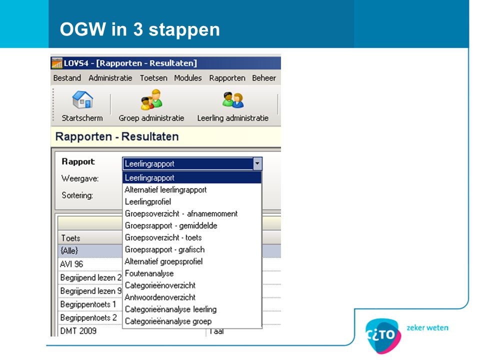 OGW in 3 stappen screenshot