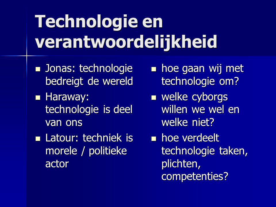 Technologie en verantwoordelijkheid