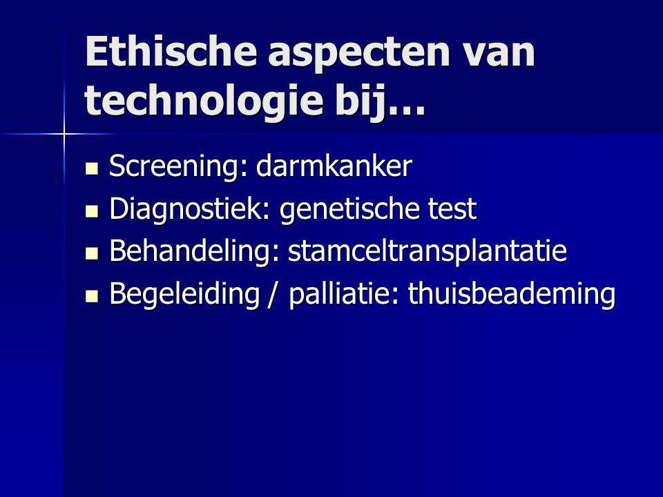 Ethische aspecten van technologie bij…