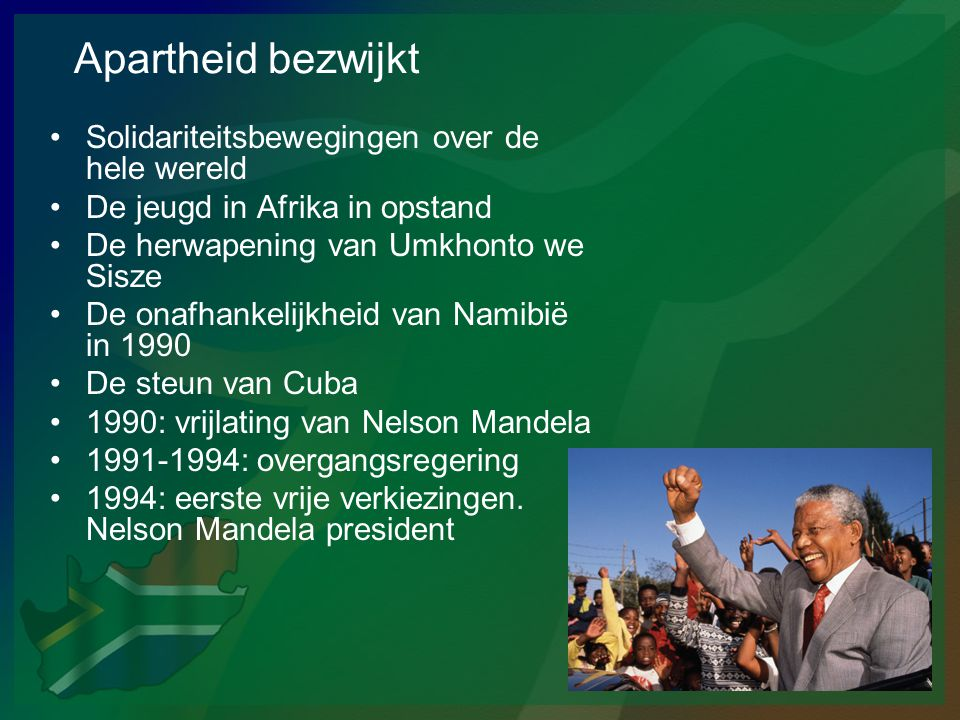 Apartheid bezwijkt Solidariteitsbewegingen over de hele wereld