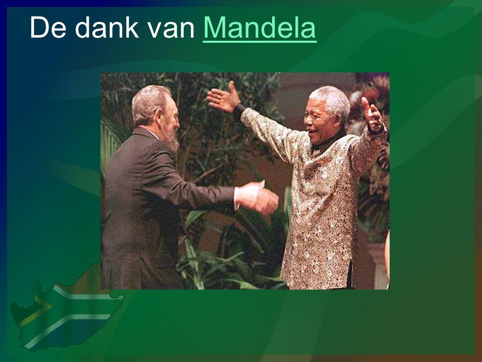 De dank van Mandela
