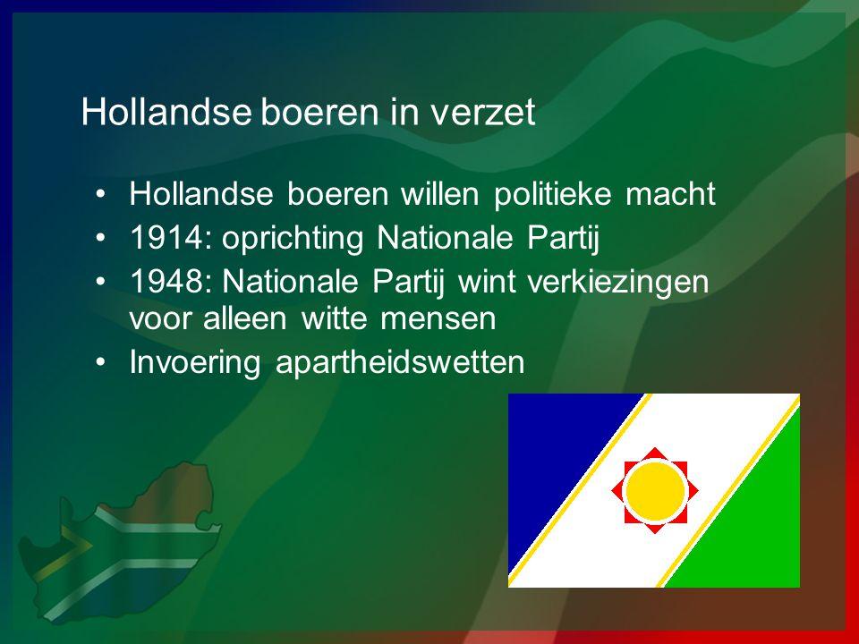 Hollandse boeren in verzet
