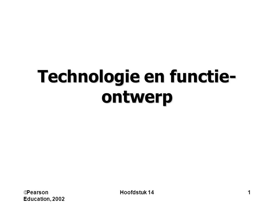 Technologie en functie-ontwerp