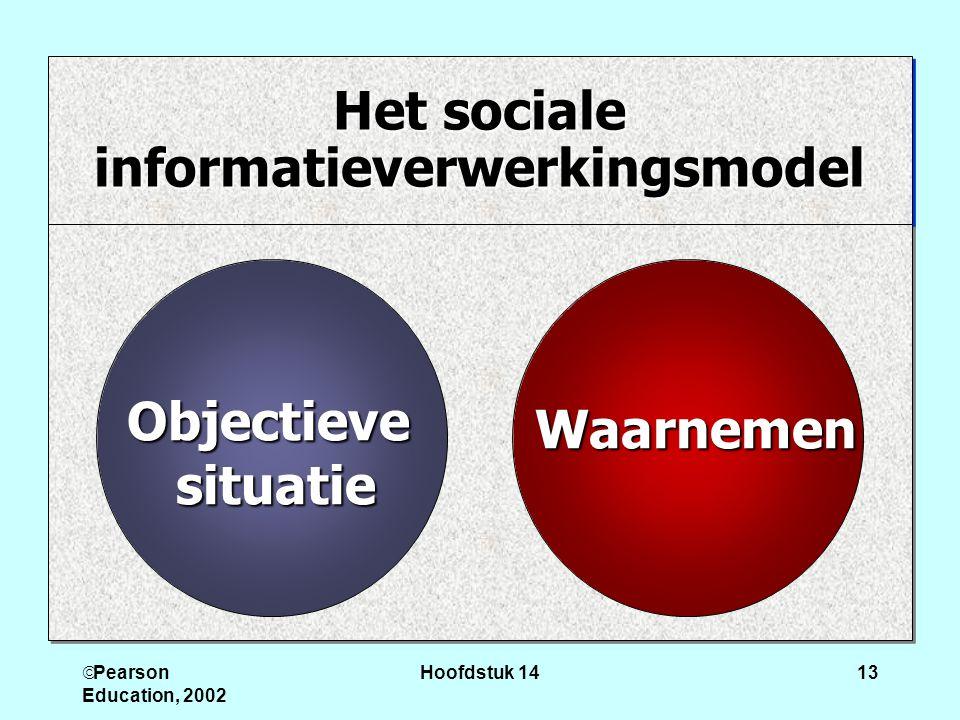 Het sociale informatieverwerkingsmodel