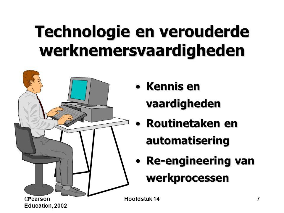 Technologie en verouderde werknemersvaardigheden