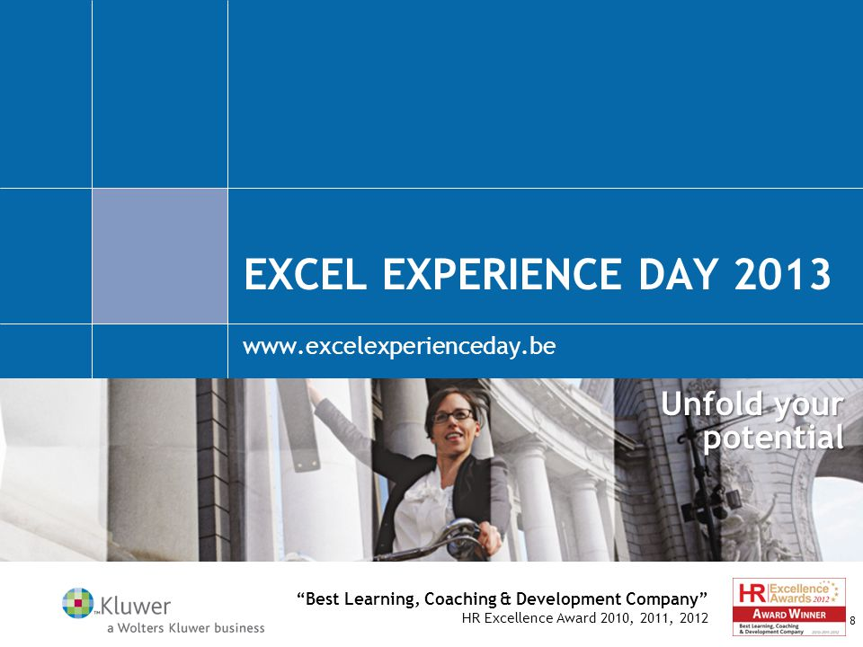 Excel experience day 2013 www.excelexperienceday.be
