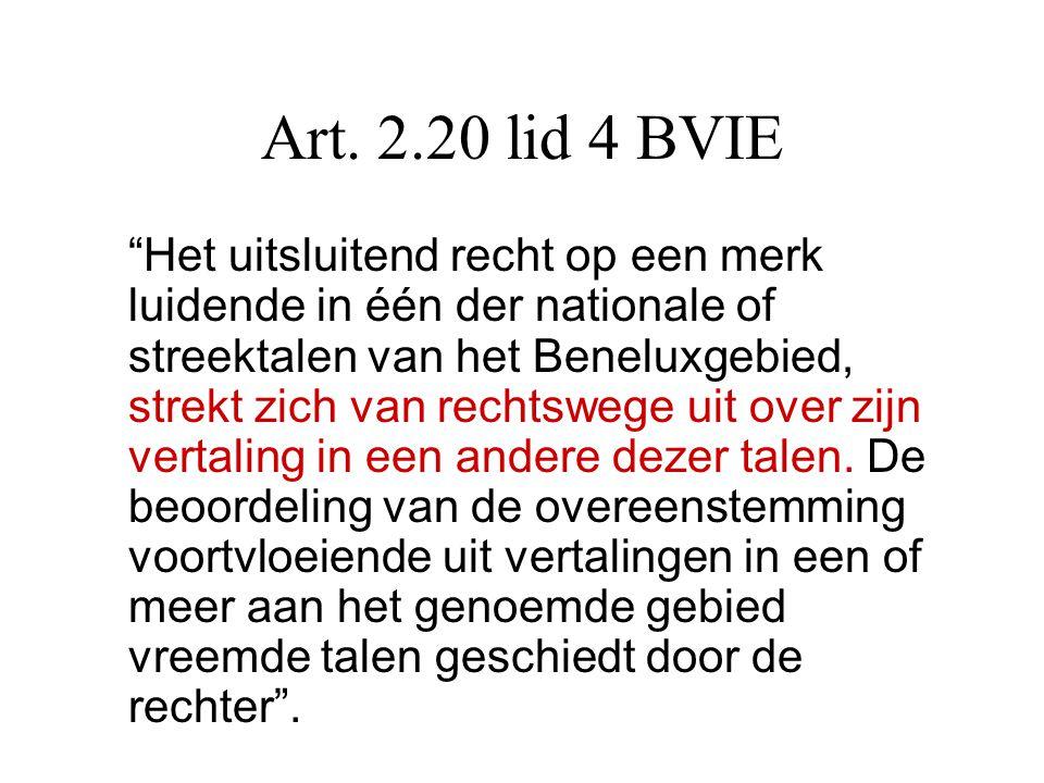 Art. 2.20 lid 4 BVIE