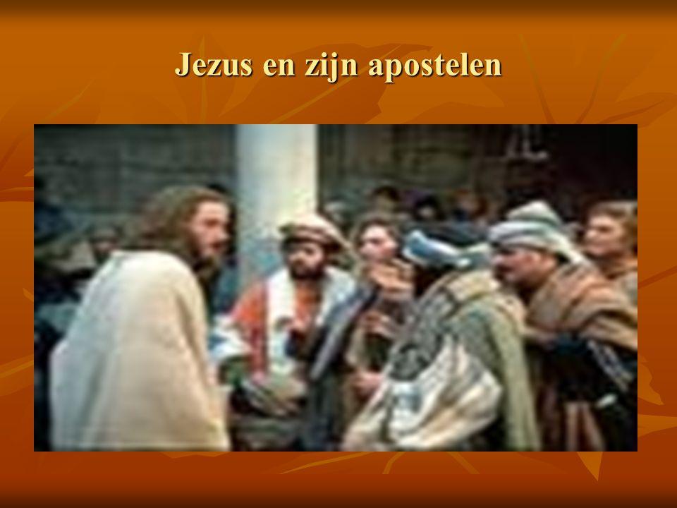 Jezus en zijn apostelen