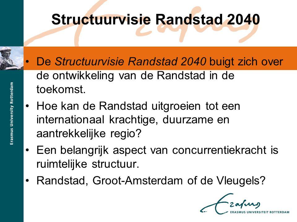 Structuurvisie Randstad 2040