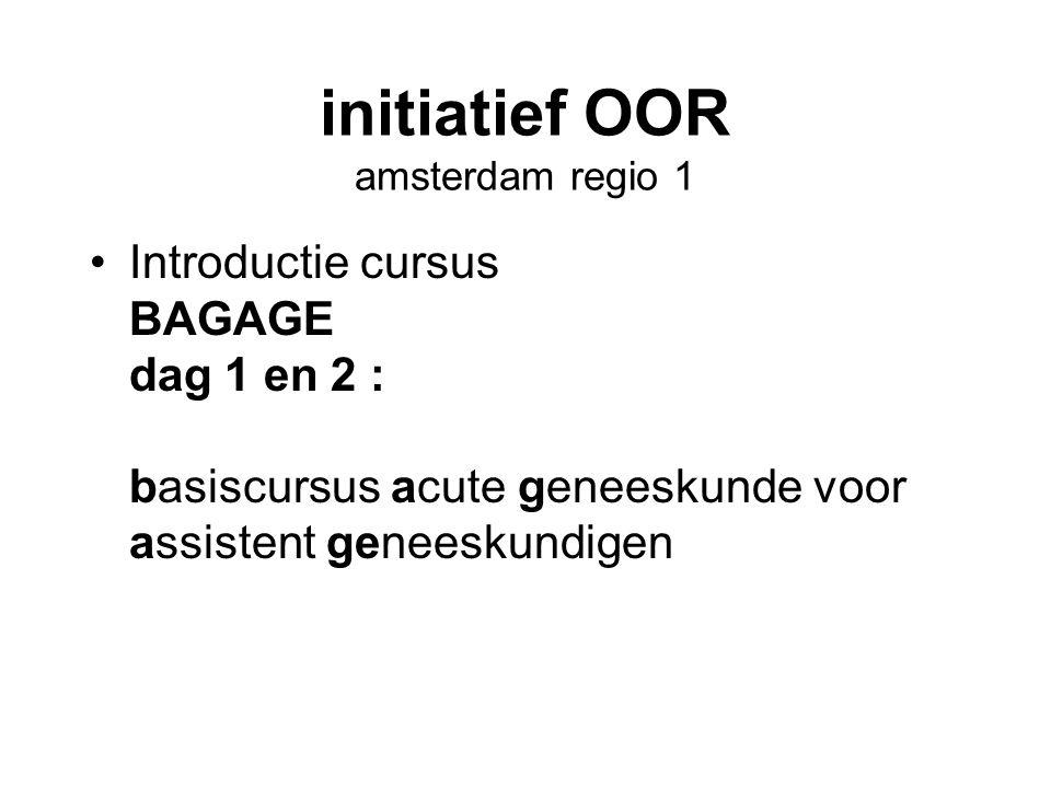 initiatief OOR amsterdam regio 1