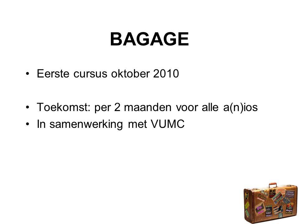 BAGAGE Eerste cursus oktober 2010
