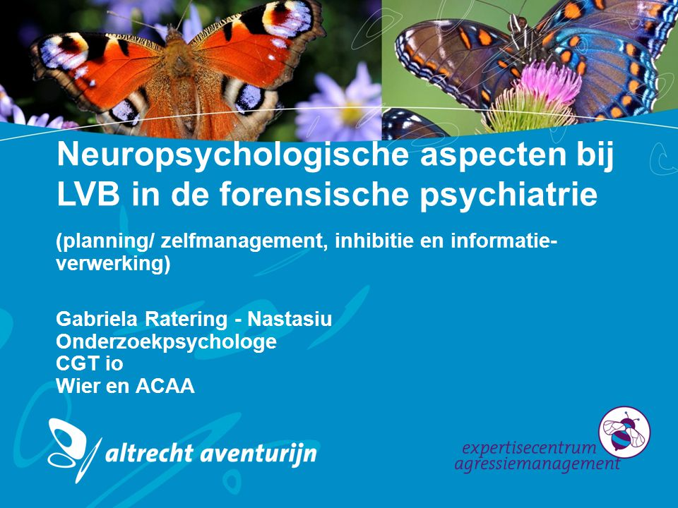 Neuropsychologische aspecten bij LVB in de forensische psychiatrie