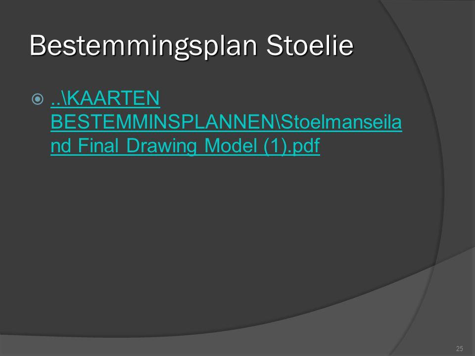 Bestemmingsplan Stoelie