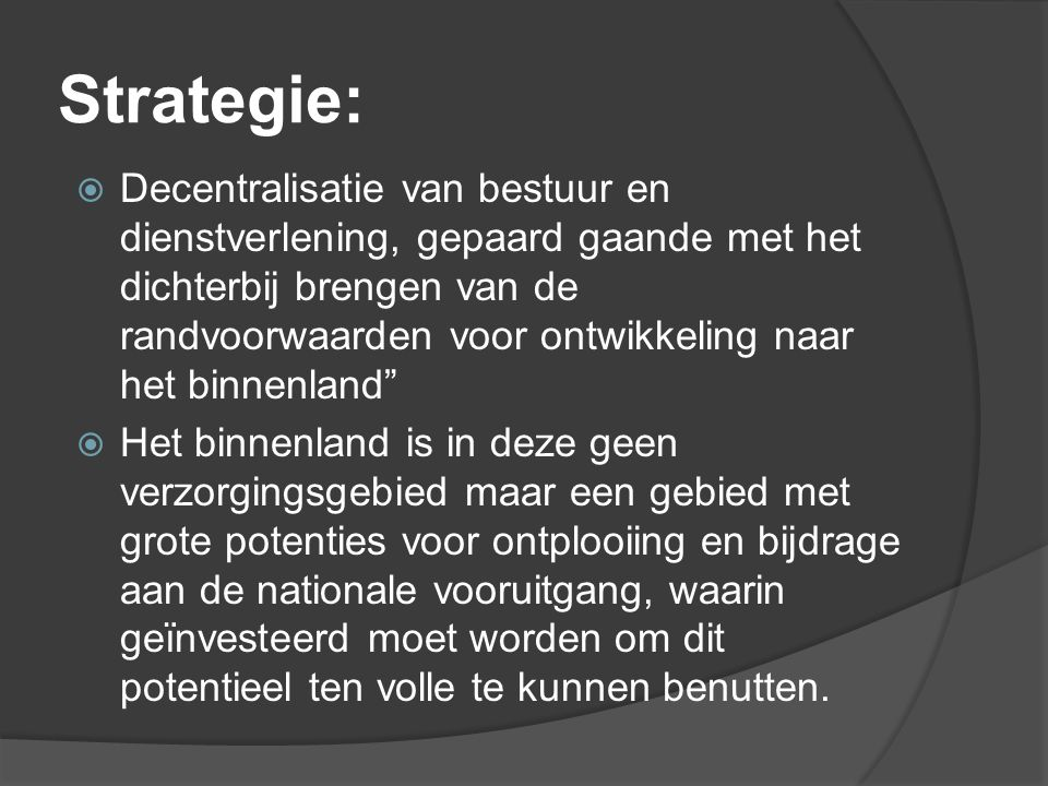Strategie: