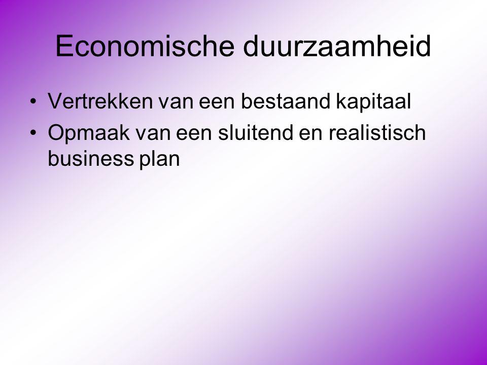 Economische duurzaamheid
