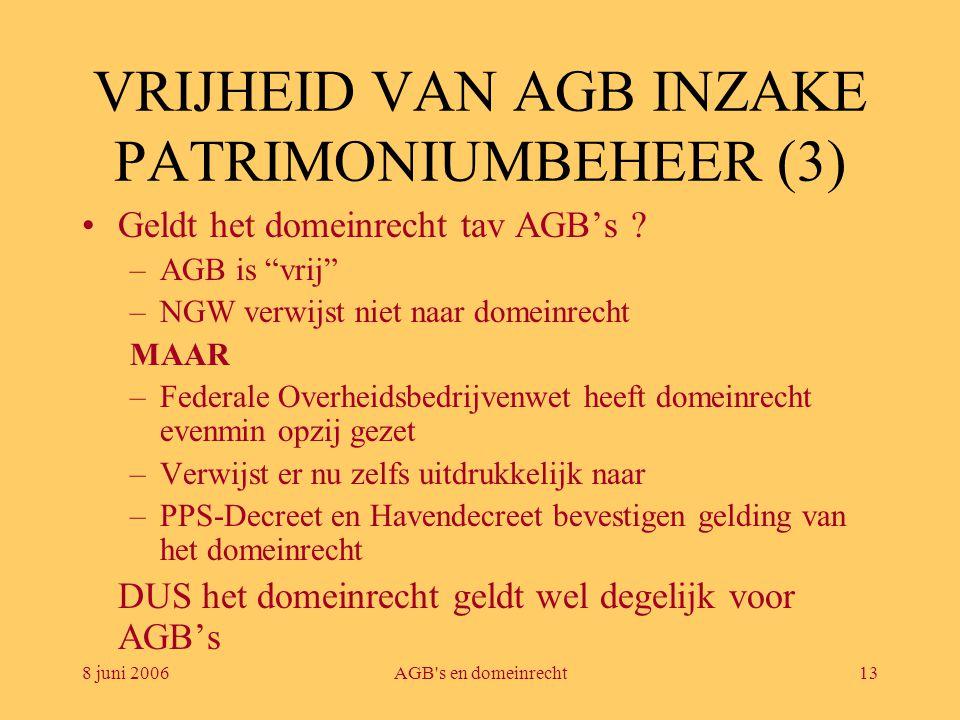 VRIJHEID VAN AGB INZAKE PATRIMONIUMBEHEER (3)