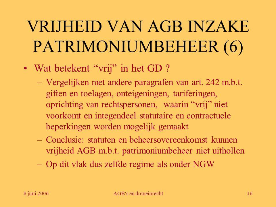 VRIJHEID VAN AGB INZAKE PATRIMONIUMBEHEER (6)