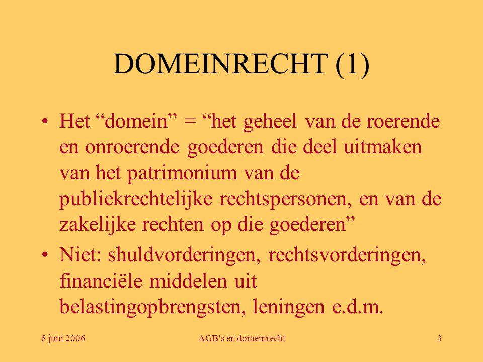 DOMEINRECHT (1)