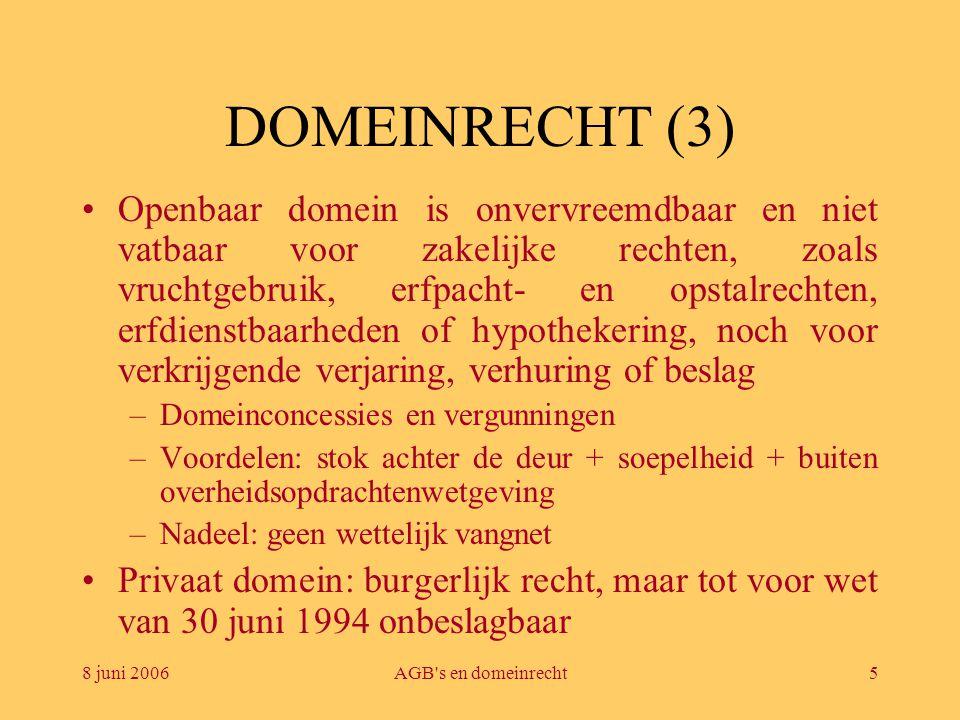 DOMEINRECHT (3)