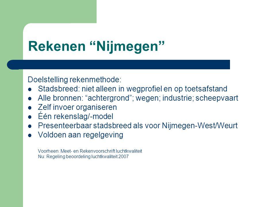 Rekenen Nijmegen Doelstelling rekenmethode: